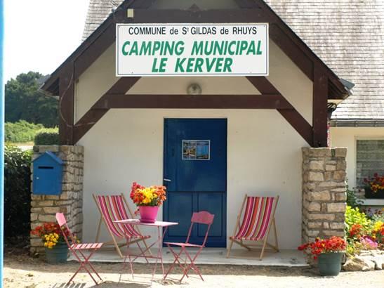 Camping-Municipal-du-Kerver-Saint-Gildas-de-Rhuys-Golfe-du-Morbihan-Bretagne sud © Camping Municipal du Kerver