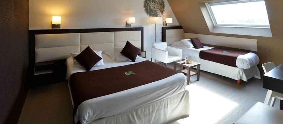 hotel-quality-la-marébaurdière-vannes-chambre © hotel-quality-la-marébaurdière-vannes