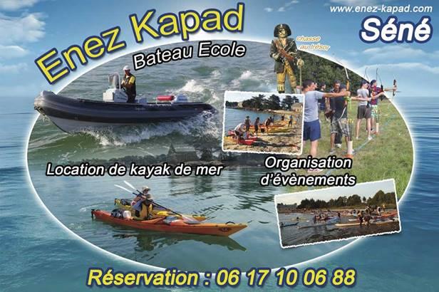 Enez Kapad-Séné-Golfe-du-Morbihan-Bretagne sud © Enez Kapad