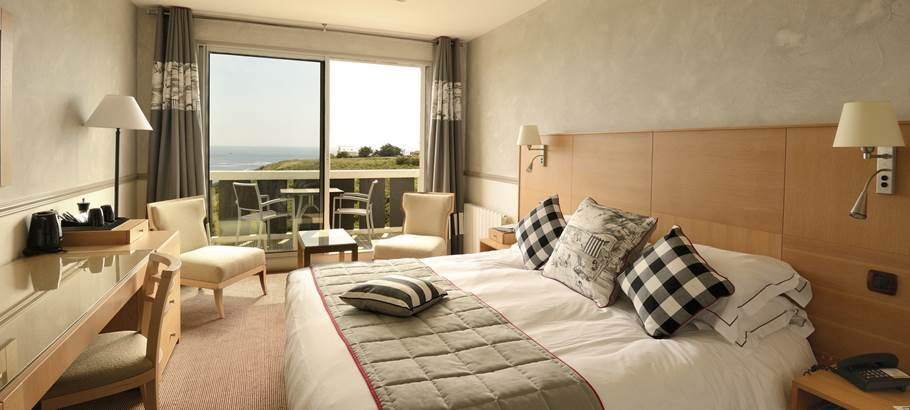 Hotel Castel clara - Chambre vue mer - Belle ile - Morbihan bretagne sud ©