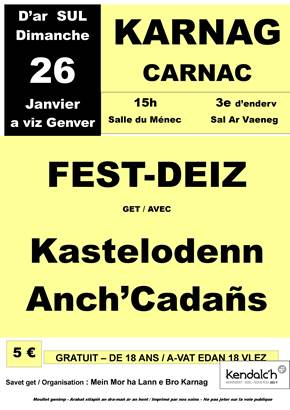 © Fest Deiz Mein Mor Lann - Carnac - Morbihan Bretagne Sud