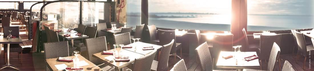 Restaurant-Les-Terrasses-de-la-Potiniere-Larmor-Plage-Groix-Lorient-Morbihan-Bretagne-Sud © Les Terrasses de la Potinière