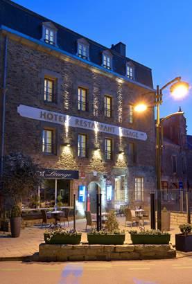 Hôtel-Restaurant-Lesage-Sarzeau-Golfe-du-Morbihan-Bretagne sud © Hôtel Restaurant Lesage