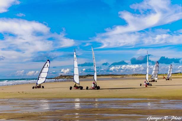 Zef Attitud' Char à Voile-St Pierre Quiberon-Morbihan-Bretagne Sud © Zef Attitud' Char à Voile
