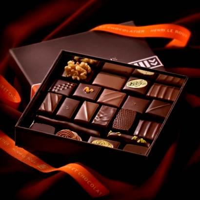 Chocolat Henri Le roux, landevant, morbihan ©