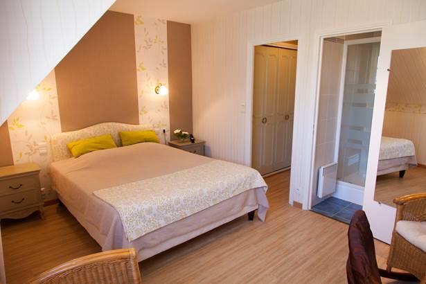 Chambre supérieure Hôtel de Kerlon*** Plouhinec Morbihan ©