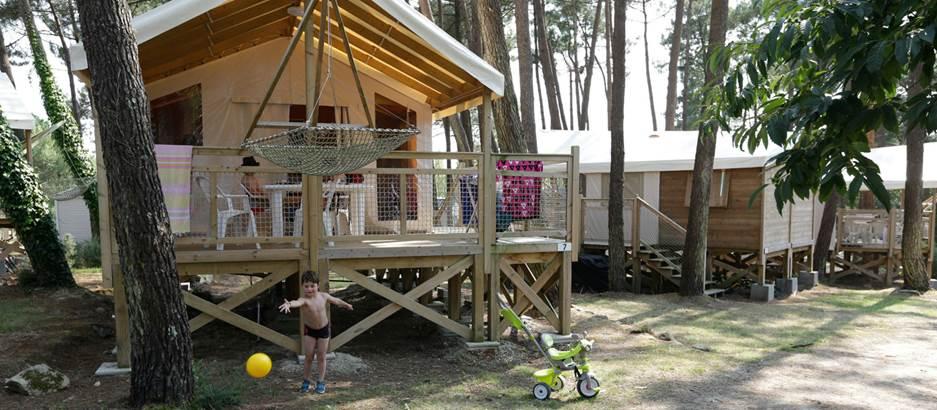 Camping-du-Fort-Espagnol-Crach-Morbihan-Bretagne-Sud © Camping-du-Fort-Espagnol-Crach