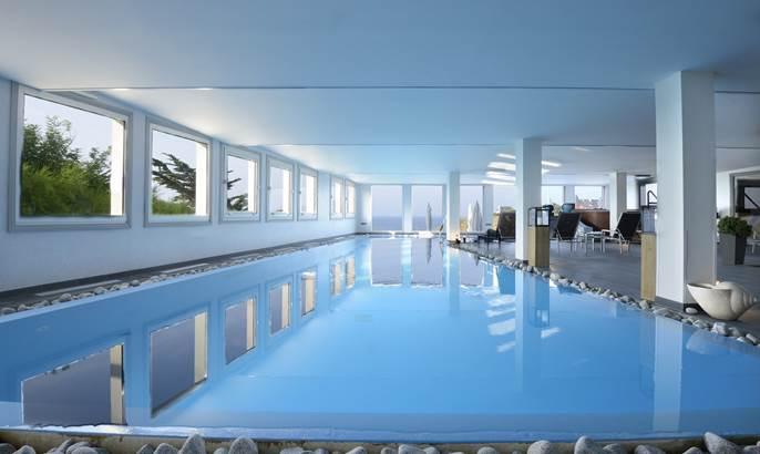 Hotel castel clara - espace détente - belle ile en mer - morbihan bretagne sud ©
