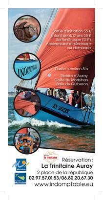 L'Indomptable Bateau du Patrimoine-Auray-Morbihan Bretagne Sud ©