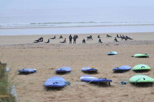 SurfingParadise-SaintPierreQuiberon-Morbihan-BretagneSud-2 © Surfing Paradise