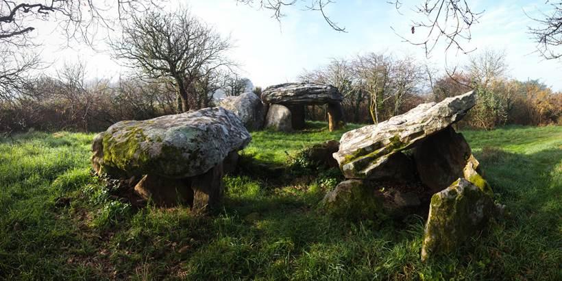 Dolmens de Kerran St Philibert - Morbihan Bretagne Sud (3) © C. WACTAUSEN
