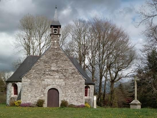 Chapelle-Saint-Philibert-Gourin-Morbihan-Bretagne-Sud © OTRPM