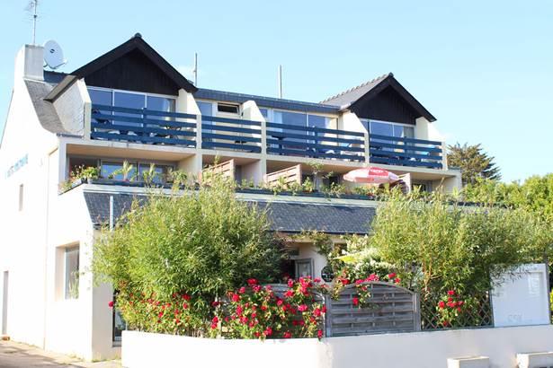 Façade-Hôtel-Oasis-Bretonne-Arzon-Presqu'île-de-Rhuys-Golfe-du-Morbihan-Bretagne sud © Vert Mer