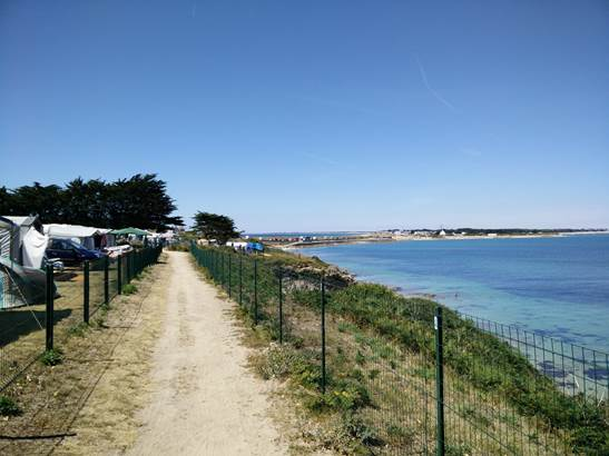 Camping Municipal de Kerhostin-Quiberon-Morbihan-Bretagne Su © Mairie de St Pierre