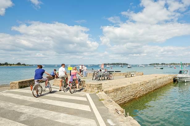 Vélo Rando Golfe - Séjour clé en main de 80 km d'itinéraires cyclables sur la Presqu'île de Rhuys ©