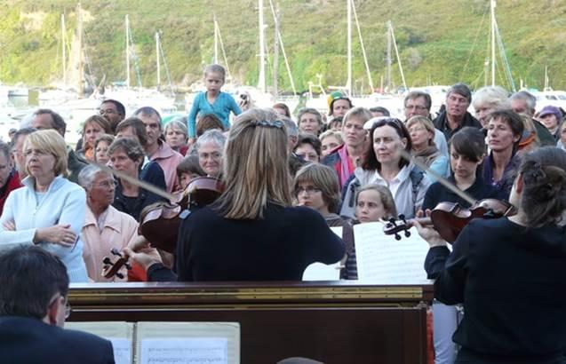 Festival plage musicale en Bangor  ©