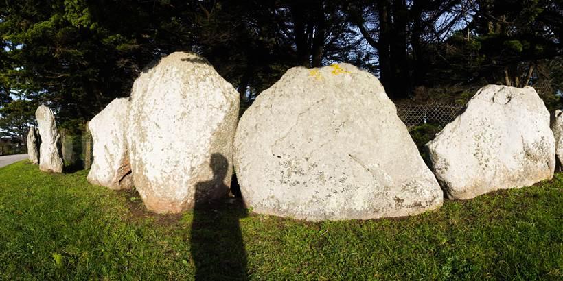 Les mégalithes de la Presqu'ile Quiberon - Morbihan Bretagne sud (2) © C. WACTAUSEN
