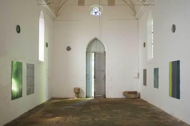 Laurent Grivet © L'art dans les chapelles 2016 Alain Sicard
