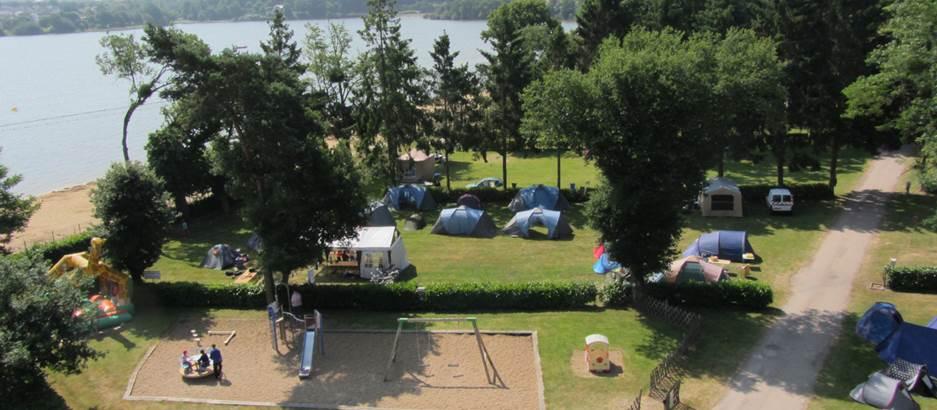 Camping-du-Lac-Taupont-Morbihan-Bretagne-Sud © Camping-du-Lac-Taupont