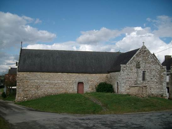 Chapelle de Locmaria en la Chapelle Neuve © © Fr. Lepennetier