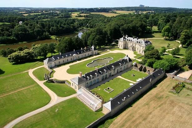 Chateau de Kerguéhennec Morbihan Bretagne Sud © ©Auteur de vues