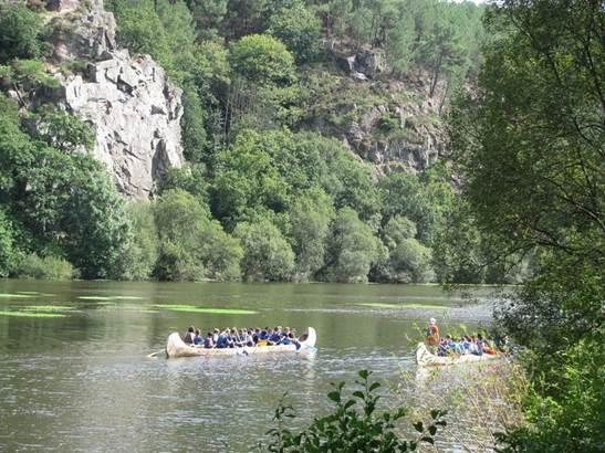 Canoe_Apach_Bihan_ile_aux_pies_Morbihan_Bretagne_Sud © Canoe Apach Bihan