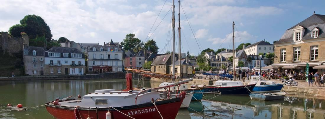 Port de plaisance de Saint Goustan © N. Millot