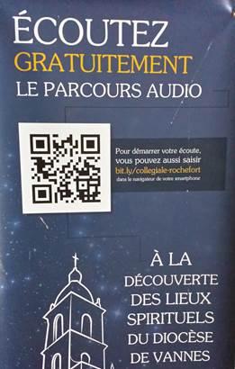 Visite audio de la collégiale Notre Dame de la Tronchaye ©