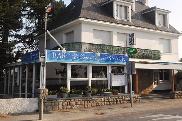 Bar le grand large - la trinite sur mer - morbihan - bretagne sud  © le grand large