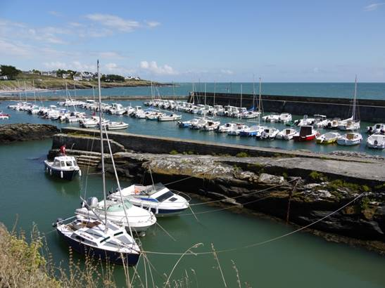 Port aux Moines - St Gildas de Rhuys - Morbihan Bretagne Sud © Mairie