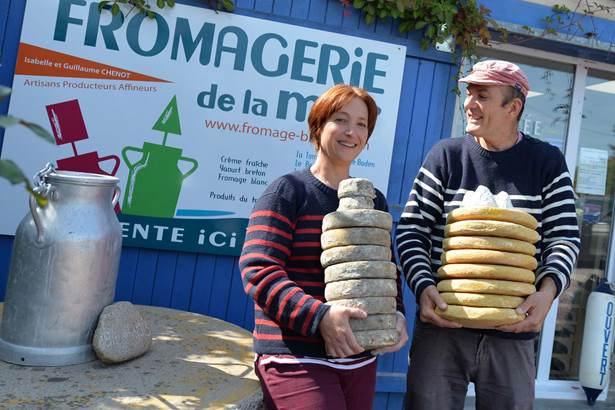 Fromagerie de la Mer-Baden-Morbihan Bretagne Sud-10 © Michel RENAC