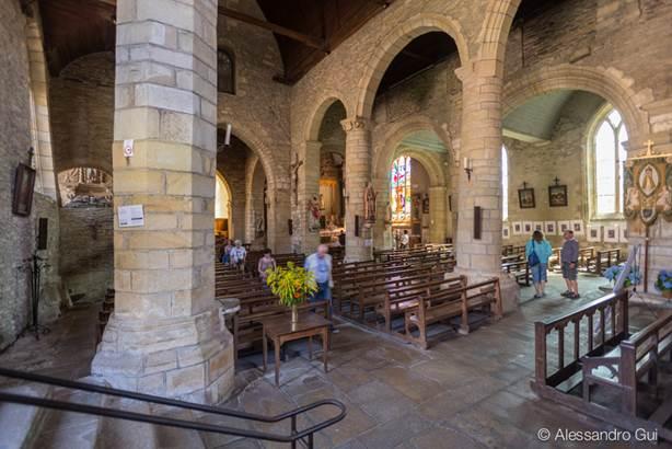 Eglise de Rochefort-en-Terre - Morbihan Bretagne Sud © Alessandro Gui