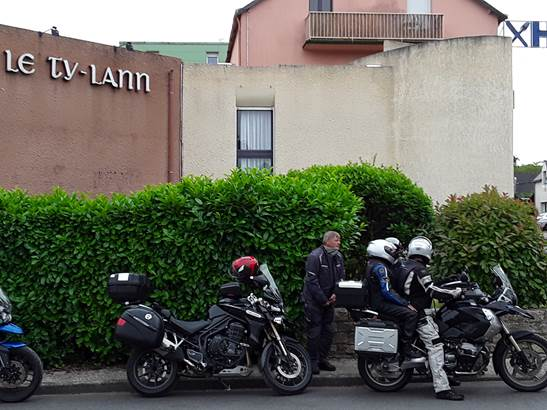 Le Ty-Lann, Logis motos ©