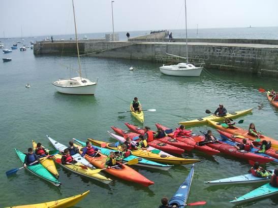 kayak-de-mer-Ploemeur-Groix-Lorient-Morbihan-Bretagne-sud © Caminokayak