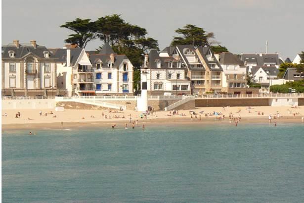 La grande plage Quiberon Morbihan Bretagne Sud ©