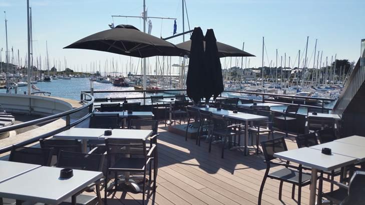 Restaurant-Le-Cargo-Port-du-Crouesty-Arzon-Presqu'île-de-Rhuys-Golfe-du-Morbihan-Bretagne sud © Le Cargo