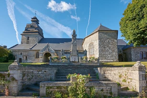 Eglise-Le-Faouet-pays-roi-Morvan-Morbihan-Bretagne-Sud © MA Gouret Puillandre