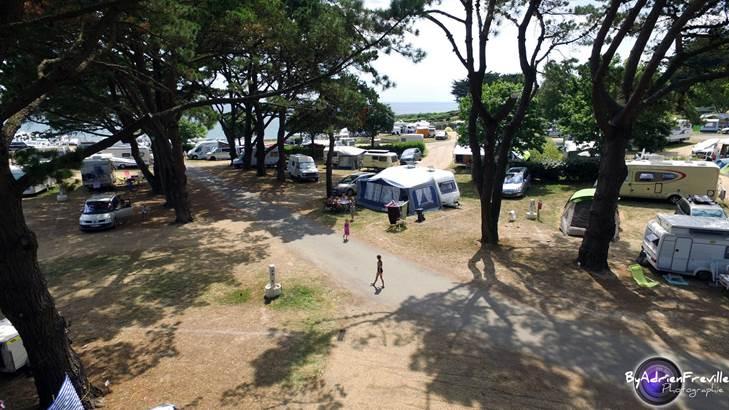 Camping-Municipal-de-Port-Sable-Arzon-Morbihan-Bretagne Sud © Adrien Freville