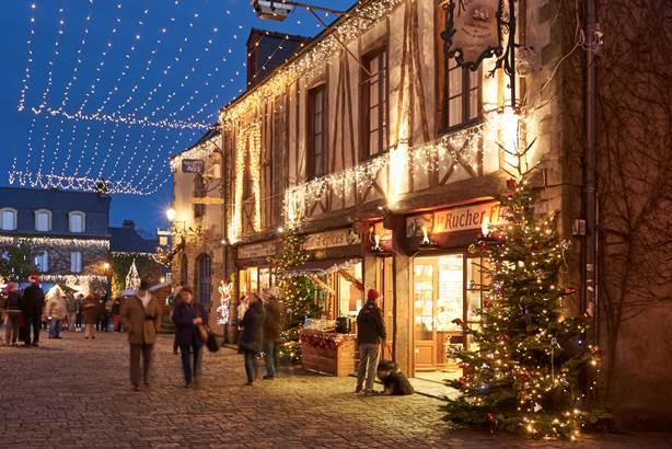 Rudy Burbant © Illuminations de Noel à Rochefort-en-Terre