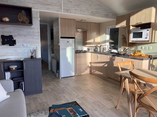 Mobil Home PREMIUM BRETAGNE SPA PRIVATIF. EXCLUSIF. ULTRA LUMINEUX. ©