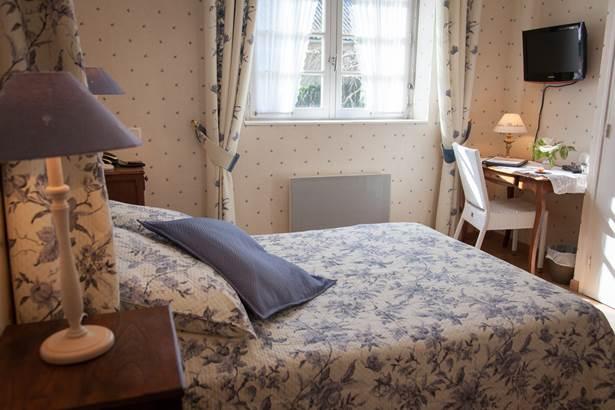 Chambre Classique Hôtel de Kerlon*** Plouhinec Morbihan ©