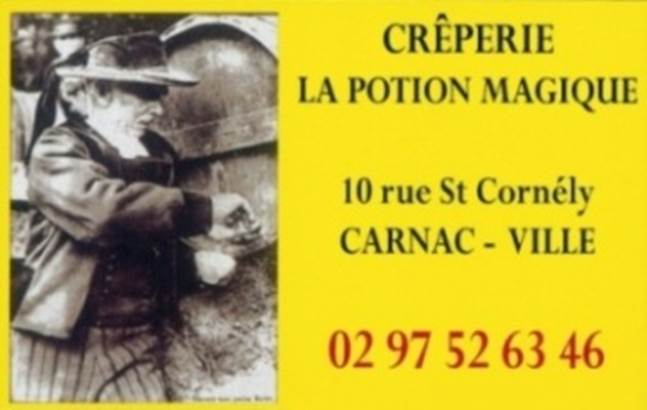 Crêperie La Potion Magique-Carnac-Morbihan Bretagne sud ©