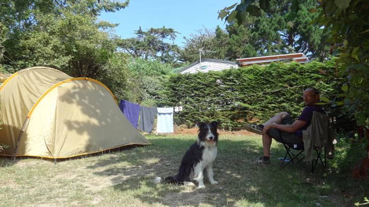 Emplacement-Tente-Camping-Le-Bilouris-Arzon-Presqu'île-de-Rhuys-Golfe-du-Morbihan-Bretagne sud © Camping Le Bilouris