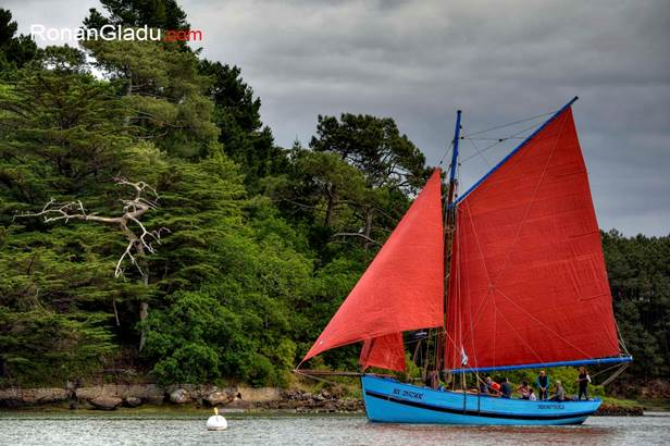 L'Indomptable Bateau du Patrimoine-Auray-Morbihan Bretagne Sud © Ronan Gladu