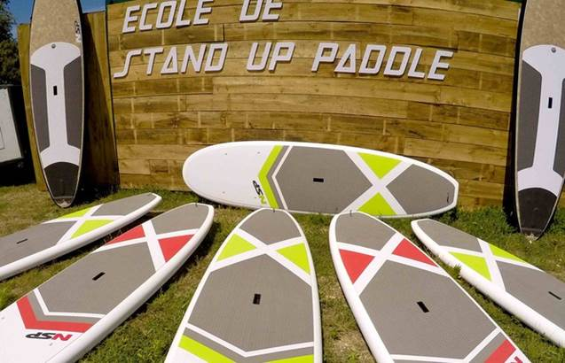 Ecole de stand up paddle board ©