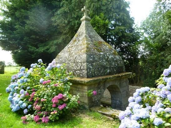 Chapelle Ste-Anne-Buléon-Morbihan Bretagne sud © F.baslé