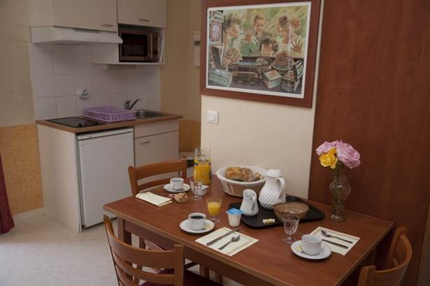 AR PEOC'H - Coin cuisine des appartements - Morbihan - Bretagne Sud © MATHURIN
