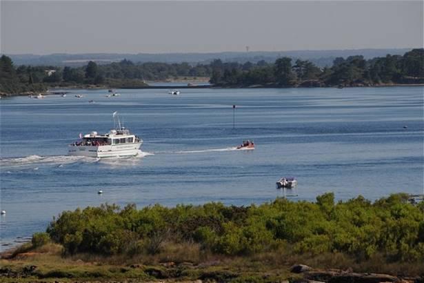 Croisière commentée dans le Golfe - Morbihan Bretagne Sud © CDT56