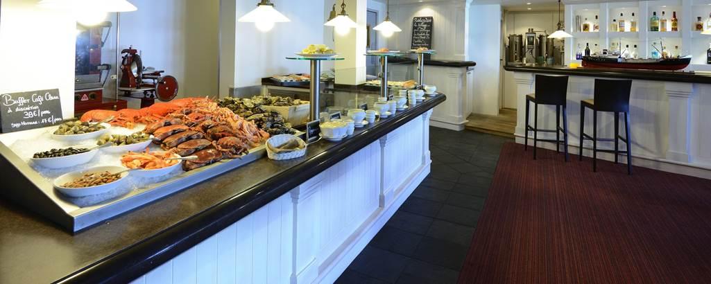 hotel castel clara - buffet - Belle ile en mer Morbihan Bretagne sud ©