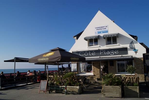 Restaurant-Côté-Plage-Le-Roaliguen-Sarzeau-Golfe-du-Morbihan-Bretagne sud © Côté Plage